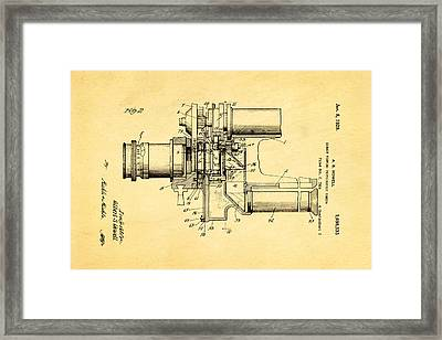 Howell Direct Viewing Camera 2 Patent Art 1929 Framed Print by Ian Monk
