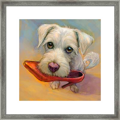 Howie's Shoe Framed Print by Sean ODaniels