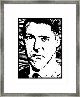 H. P. Elvis Framed Print