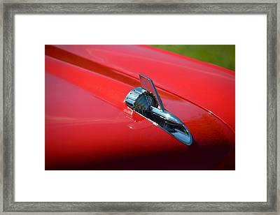 Framed Print featuring the photograph Hr-12 by Dean Ferreira
