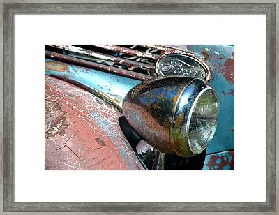Framed Print featuring the photograph Hr-32 by Dean Ferreira