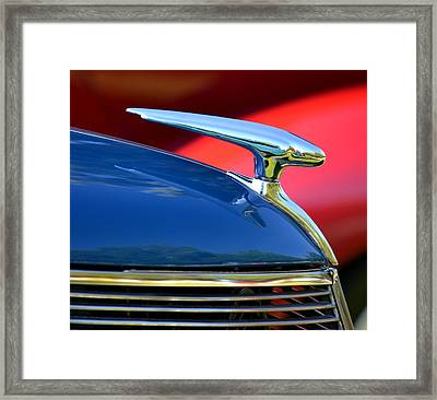 Framed Print featuring the photograph Hr-45 by Dean Ferreira