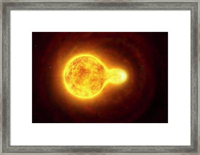 Hr 5171 Star Framed Print by European Southern Observatory