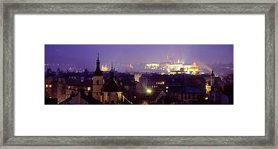 Hradcany Castle, Prague, Czech Republic Framed Print by Panoramic Images