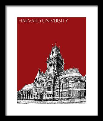Harvard Framed Prints