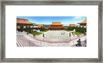 Hsi Lai Temple - 07 Framed Print by Gregory Dyer