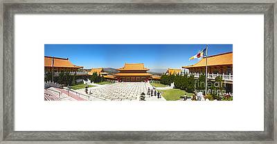 Hsi Lai Temple - 09 Framed Print by Gregory Dyer