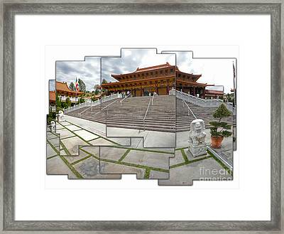Hsi Lai Temple - 06 Framed Print by Gregory Dyer