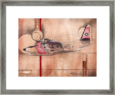 Hu 16 Albatross Framed Print