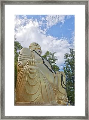 Hua Hin Sitting Buddha 02 Framed Print