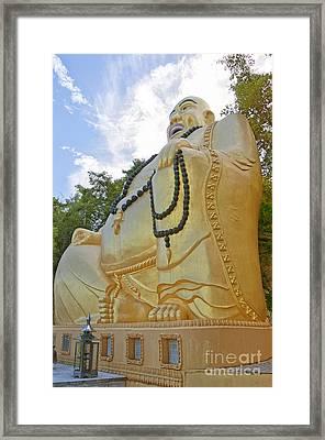 Hua Hin Sitting Buddha 03 Framed Print