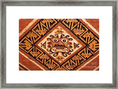 Huaca De La Luna Framed Print by James Brunker