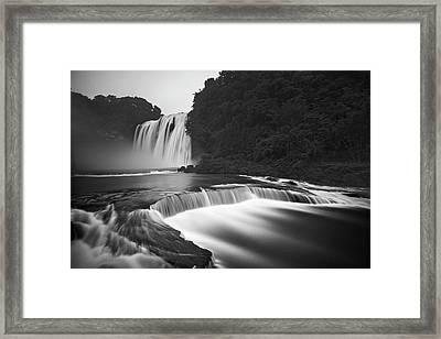 Huangguoshu Waterfalls Framed Print