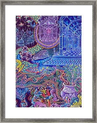 Huasi Yachana Framed Print