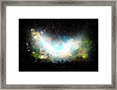 Hubble Birth Of A Galaxy Framed Print
