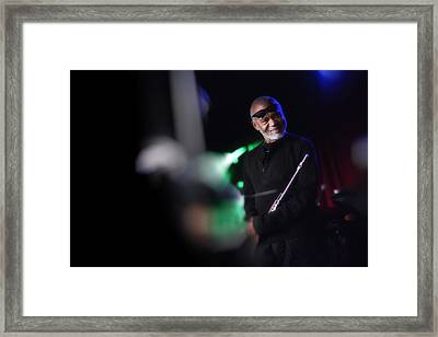 Hubert Laws Framed Print by Dailey Pike