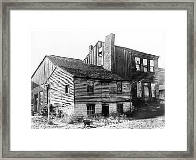 Huckleberry Finn's Home Framed Print
