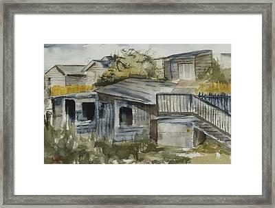 Hudson Alleyway Framed Print