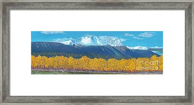 Hudson Bay Mountain Framed Print