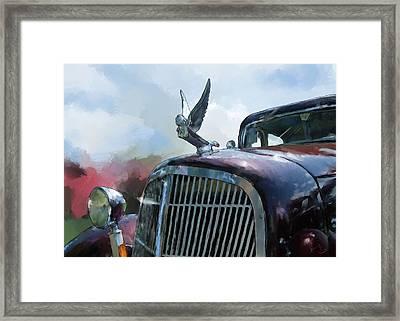 Hudson Framed Print