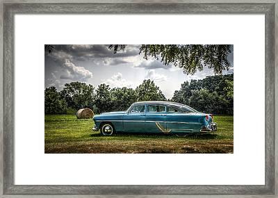Hudson Hornet Framed Print by Ray Congrove