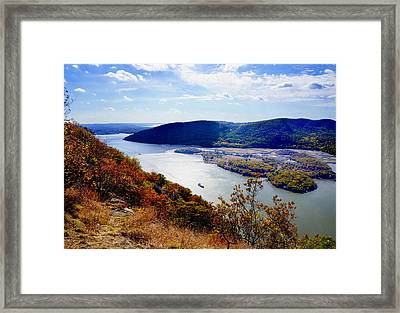 Hudson River Framed Print