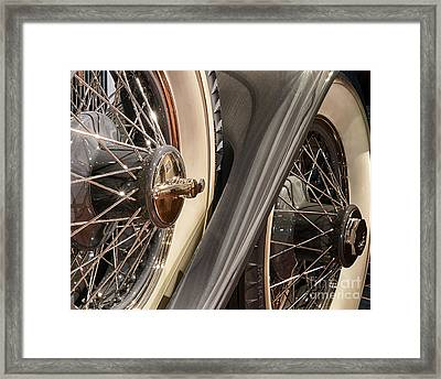 Hudson Spare Tire Framed Print by JRP Photography