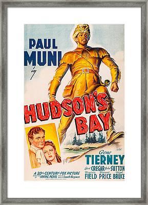 Hudsons Bay, From Left, John Sutton Framed Print by Everett