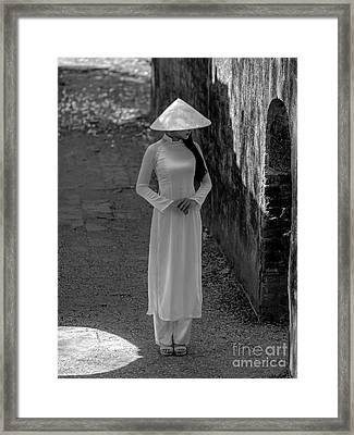 Hue Girl Framed Print