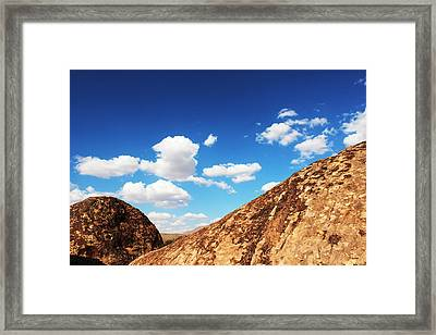 Hueco Tanks Vision Framed Print by Chris Bohn