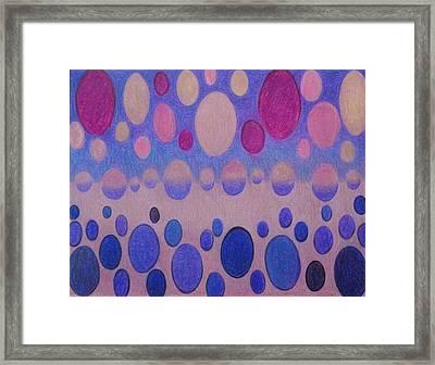 Huevos Contentos Framed Print
