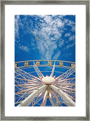 Huge Ferris Wheel Framed Print