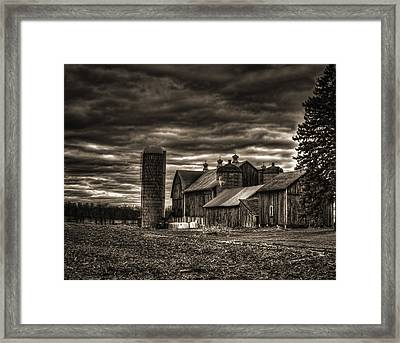 Huge Wisconsin Farm Framed Print by Thomas Young