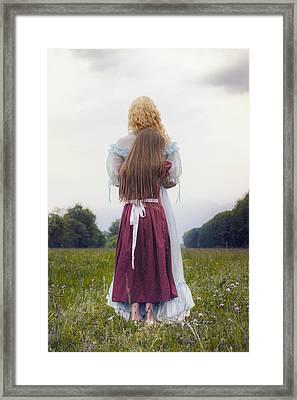 Hugging Framed Print by Joana Kruse
