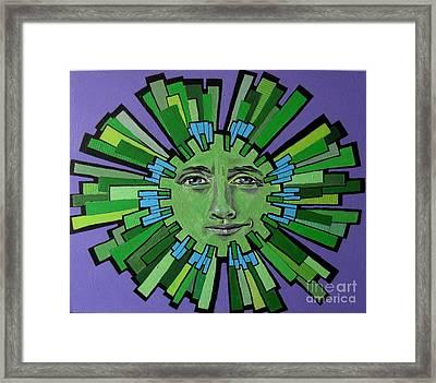 Hugh Grant - Sun Framed Print