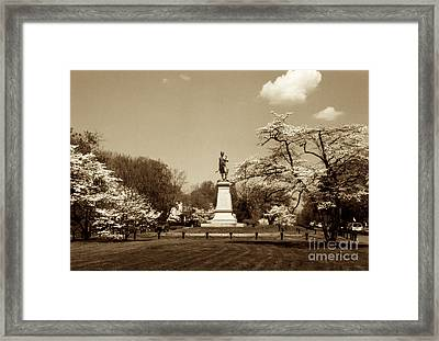 Hugh Mercer In Springtime II Framed Print