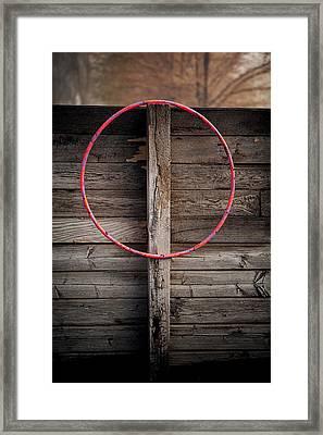 Hula Hoop Framed Print by YoPedro