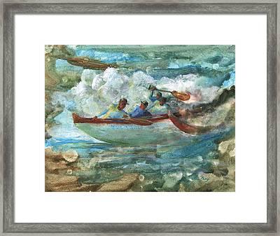 Hula Kai Framed Print