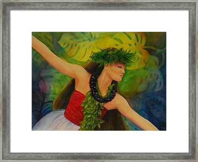 Hulakahiko Framed Print by Luane Penarosa