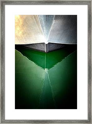Hull Abstract 3 Framed Print