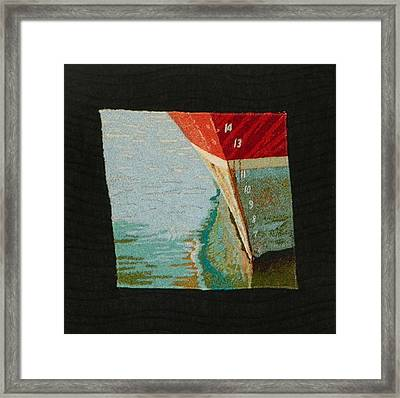 Waterline Framed Print