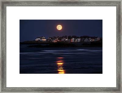 Hull Moonshine Framed Print