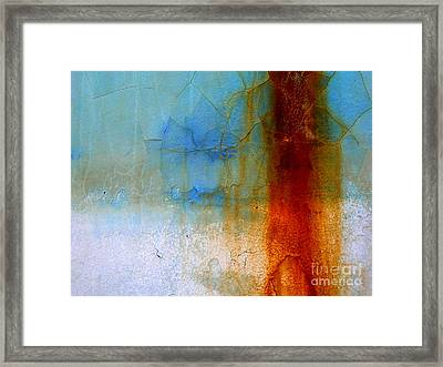 Framed Print featuring the photograph Hull Textures by Robert Riordan