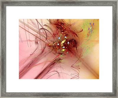 Human After All Framed Print