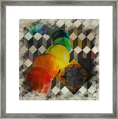 Human Essence 1 Framed Print by Dorothy Berry-Lound
