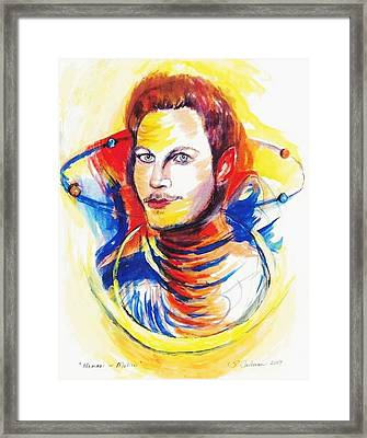 Human In Motion Framed Print by Suzanne Ackerman