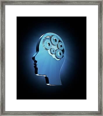 Human Intelligence Framed Print
