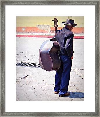 Human Kindness Is Overflowing Framed Print by Ramon Fernandez