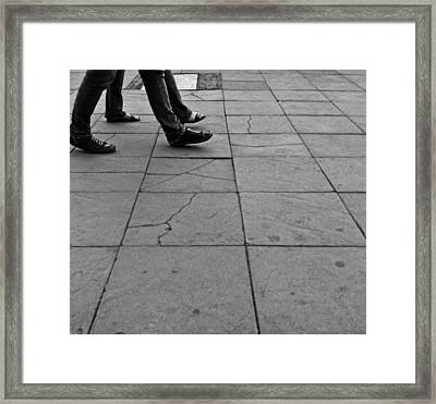 Human Love Framed Print by Lucy D