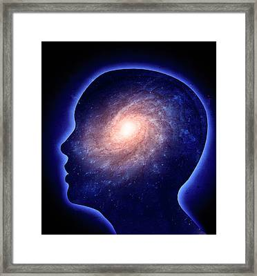 Human Mind Framed Print